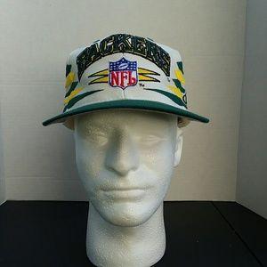 Vintage green bay packers logo athletic cap